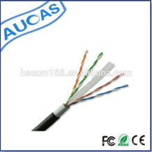 Cat6 cable al aire libre / cat6 cable blindado / cable de red para exteriores