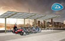 Steel structure aluminum alloy frame carport/canopy/garage/awning