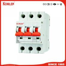 Miniature Circuit Breaker with Knb6-63 (GRB60) 6ka- 10ka Sp Dp Tp C10A,C16A,