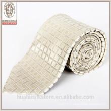 Vente en gros de laine de doublure en soie cravate en soie Cravate en chirstmas
