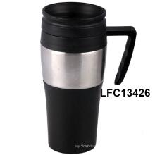 Auto taza y frasco de vacío de acero inoxidable (LFC13426)