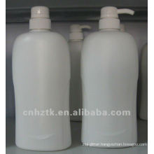 lotion bottle with pump/PE bottles for shampoo , bath cream packing