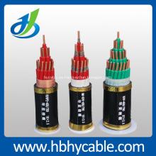 Cable de alimentación con aislamiento de PVC blindado