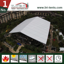 1500 Personen großes Festzelt im Freien für Veranstaltungen