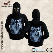 HM-100201 animal wolf hoodie