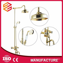 massage shower set brass sliding bar shower room set