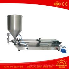 Enchimento da salsicha do gergelim da máquina de enchimento da manteiga de sésamo