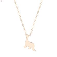 Legierung Frauen Tier Drachen Anhänger Halskette Schmuck
