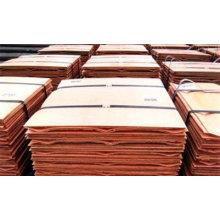 Cátodo de cobre puro da venda 99.99% quente