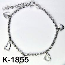 Micro pavimentam ajustando a jóia da prata esterlina 925 (K-1855. JPG)