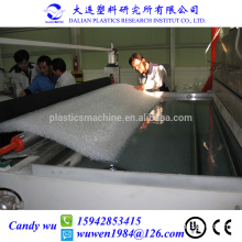 1.8m-2.2m width 35-200mm thick 50-80kg/m2 density PET pillow making machinery