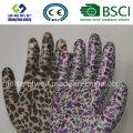 Gant de sécurité en gant de nitrile et gant de jardin
