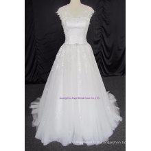 Magro e popular vestido de noiva vestido de noiva vestido