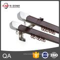Rail à rideaux en aluminium à chaud, rail à rideau flexible et flexible