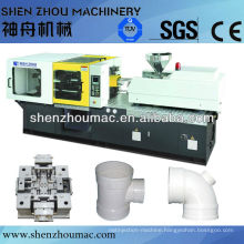PVC pipe fitting injection machine