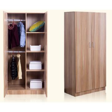 Nuevo armario del armario del armario del dormitorio de la melamina de madera para el proyecto del hotel (precio de fábrica)