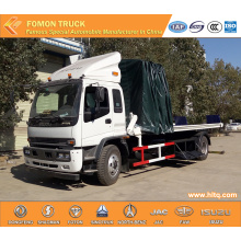 ISUZU FTR high lifting platform truck