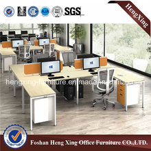 Hot Sales 4 Seaters Modular Office Partition (HX-MT5070)