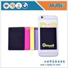 Mobile Phone Silicone Wallet Card Case