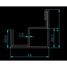 Armario eléctrico 9 pliegues rack 9 pliegues perfil vertical metal