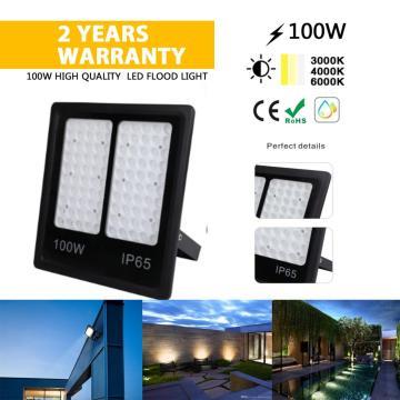 Holofote LED 100W para exterior bom preço