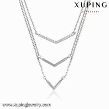 Ожерелье-00103 Ювелирные Изделия Ожерелье Рекламные Фианитами