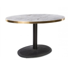 Round Marble Top Single Leg Restaurant Dining Tables