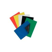 Imán de goma flexible permanente permanente con PVC colorido