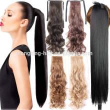 Ruban magique d'extension de queue de cheval de cheveux de prix d'usine bon marché pour le revendeur