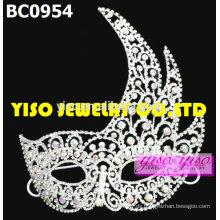 Maske Mode Kristall Festzug Tiaras