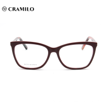 Frames ópticos personalizados do Eyeglasses da leitura do acetato da forma