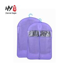Terno de vestido de casamento de design dobrável personalizado embalagem saco de tecido não tecido