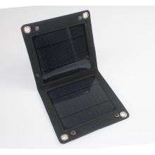 5W USB dobrável PET telefone celular carregador de painel solar