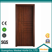 PVC Laminated Moulding Carved MDF Doors for Houses Projects