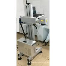 Escova terminal automática e máquina de marcação a laser
