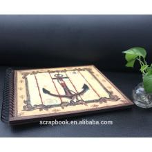 2015 neueste Büttenpapier Sammelalbum Stil Fotoalbum von alibaba