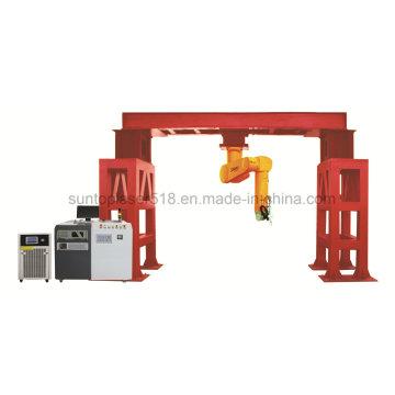 3D Metall Laser Schneidemaschine / Roboter Laser Schneidemaschine