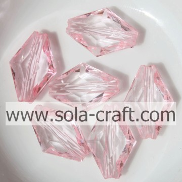 Fantastic Charming Clear Faceted Bicone Jewelry Accessory Beads