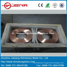 Tungsten Copper Block W70cu30 with ISO9001 From Zhuzhou Jiabang