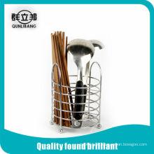 Suporte de pauzinhos de aço inoxidável, rack de pauzinhos multi cozinha