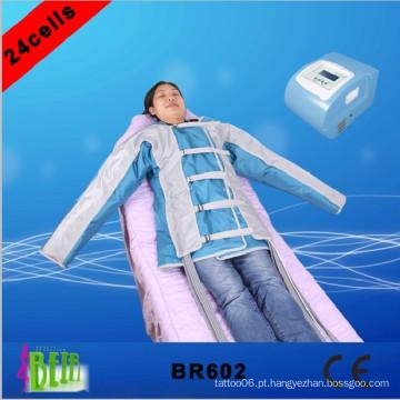 Pressoterapia corpo massagem desintoxicação linfática dispositivo de saúde