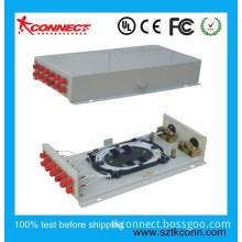 Wall-Mounted 12 Port FC Fiber Optic Terminal Box