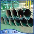 Longitudinal steel seam welded pipes
