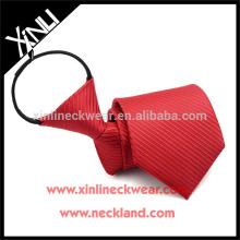 Cravate 100% fait à la main de polyester de noeud parfait de noeud