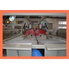 Línea de extrusión de tubería doble de drenaje de PVC
