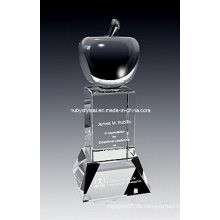 9 Zoll hoch Super Apple Crystal Award Trophäe (GL12)