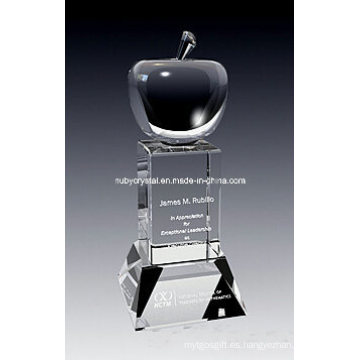 Trofeo de 9 pulgadas de gran premio de cristal de Apple (GL12)