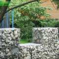 Welded galvanized wire mesh gabion for bridge protect