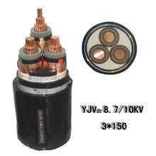 Электрический / 3-жильный / XLPE-изоляционный силовой кабель