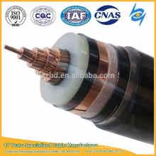 33kv de un solo núcleo 1C 500sqmm xlpe Cable de alimentación de aislamiento